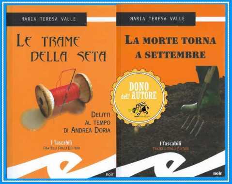 libri donati dall'autrice Maria Teresa Valle